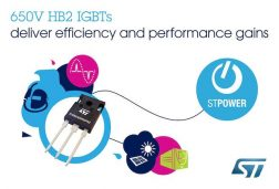STMicroelectronics' IGBTs Boost Performance with Latest High-Speed Technology