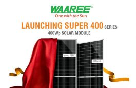 Waaree Launches India's First 400 Wp Modules; Eyes Exponential Growth in FY20