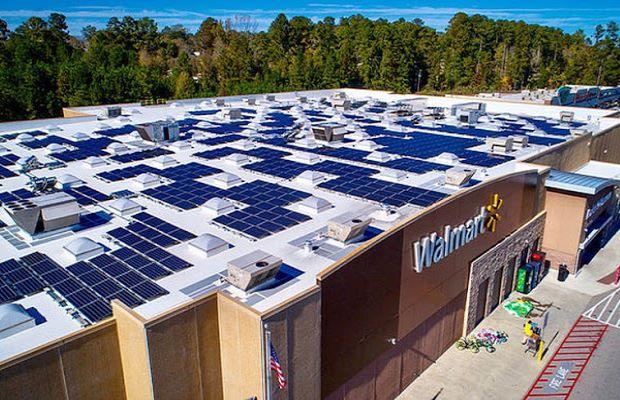 Walmart rooftop solar