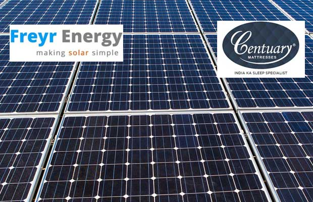 Centuary Mattresses Goes Solar With Freyr Energy