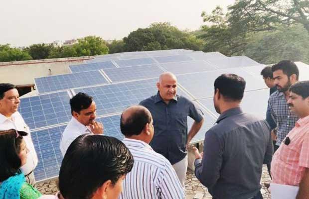 Delhi Schools Get Solar Power