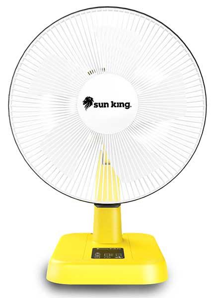 Greenlight Planet's Solar Fans
