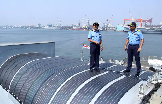 Indian Navy Sails towards Renewable Energy