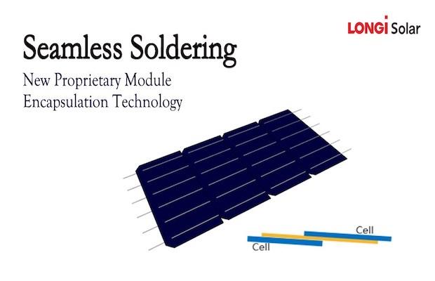 LONGi Seamless Soldering