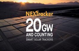 NEXTracker Achieves 20 GW Solar Tracker Milestone