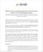 BNEF Report on REN21 Renewables 2019 Global Status
