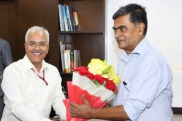 Shri RK Singh takes charge of the Ministries of the Power and New & Renewable Energy