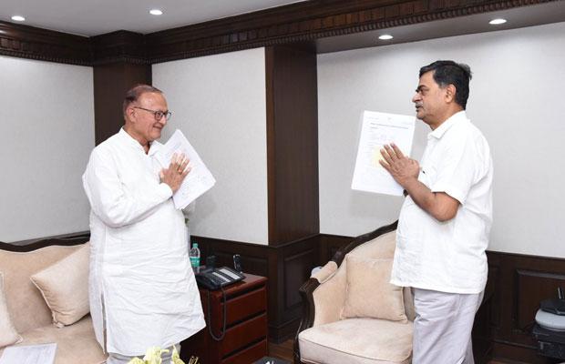 RK Singh asked Rajasthan Energy Minister