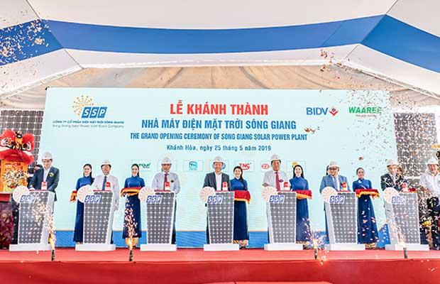Waaree Energies solar project in Vietnam