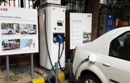EESL Commissions First EV Charging Station in South Delhi