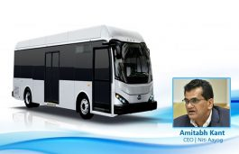 5,645 Electric Buses Sanctioned for 65 Cities: Amitabh Kant