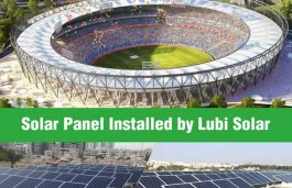 Upcoming World's Largest Cricket Stadium to Go Solar with Lubi