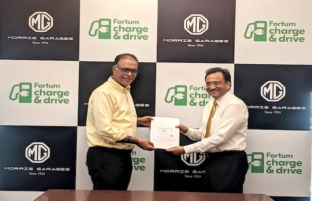 MG Fortum EV Charging