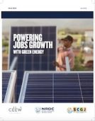 CEEW Report on Power Job Growths with Green Energy