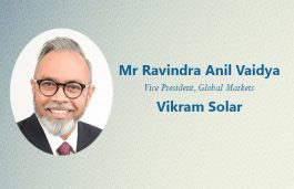 Vikram Solar Inducts Ravindra Anil Vaidya For Global Push