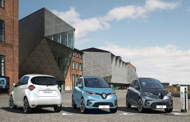 Renault Electric Vehicles China