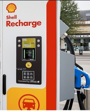 Shell 150kW EV Charger