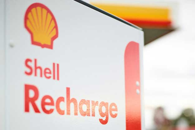 Shell electric vehicle charger