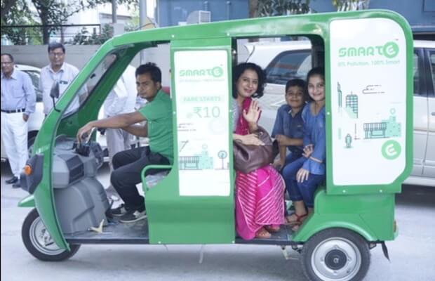 SmartE 100 Crore Mitsui