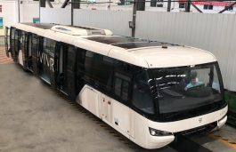 Hanergy and TAM Co-Develop Buses With Solar Roof Systems