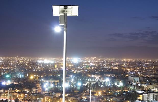 Solar Streetlights REIL