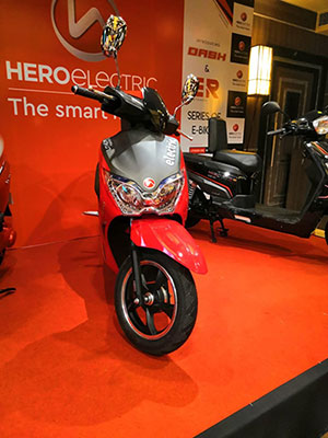 Hero Electric scooter Dash