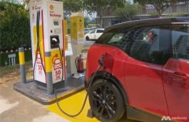 Shell Recharge Forays Into Southeast Asia With EV Chargers in Singapore