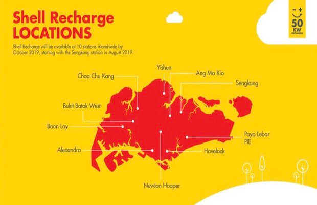 Shell EV Singapore