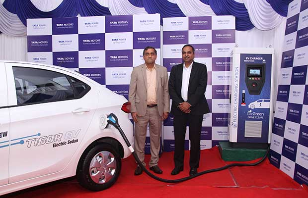 Tata Motors to Setup 300 EV Charging Stations