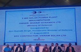 Vikram Solar Commissions 5 MW Solar Plant for Bharat Dynamics