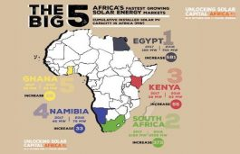Top 5 Fastest-Growing Solar Markets in Africa
