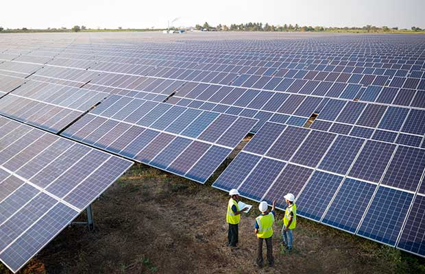AMP Energy India Open Access Solar Plant in Karnataka
