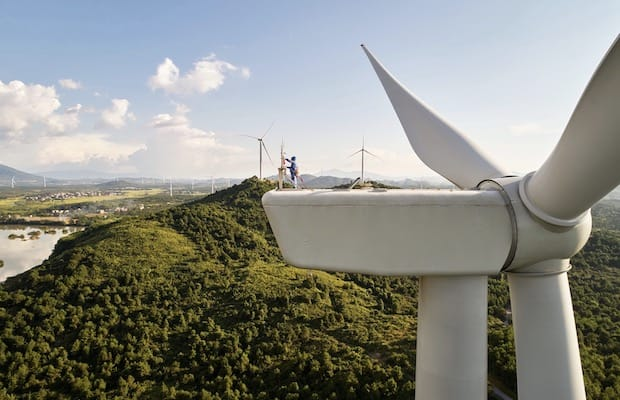 Apple China Wind Farms
