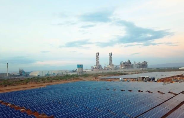 Bharathi CementSolar10 MW