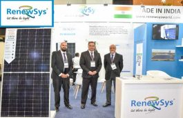 RenewSys Launched Advanced Technology Improving Solar Affordability and Accessibility at REI 2019