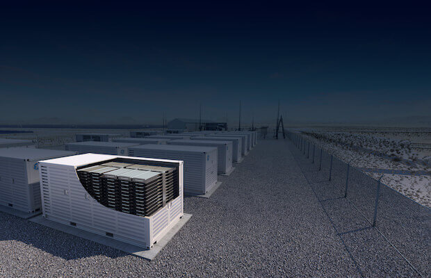GE 100 MWh Storage California
