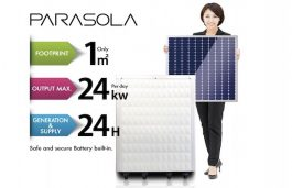 Sakuraenergy's new RE Generation System Requires Only 1 Sq Mtr to Produce Electricity