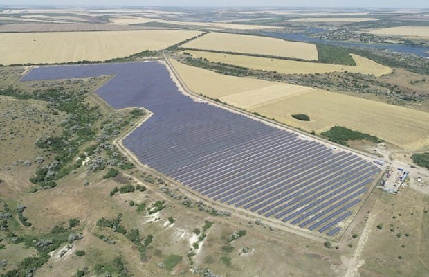 Scatec Solar Commercial Operation Ukraine