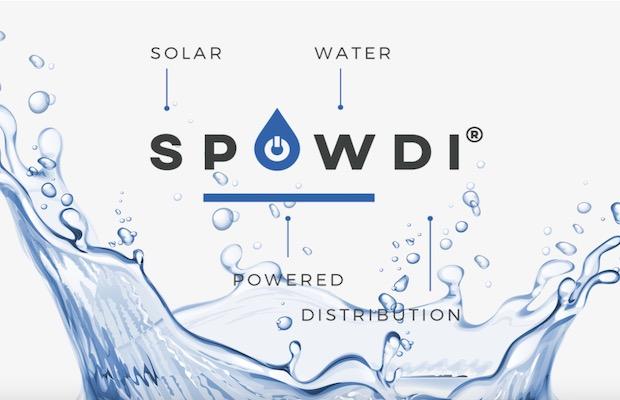 REI 2019: Spowdi Unveils Ingenious Zero-Emission Water Distribution System