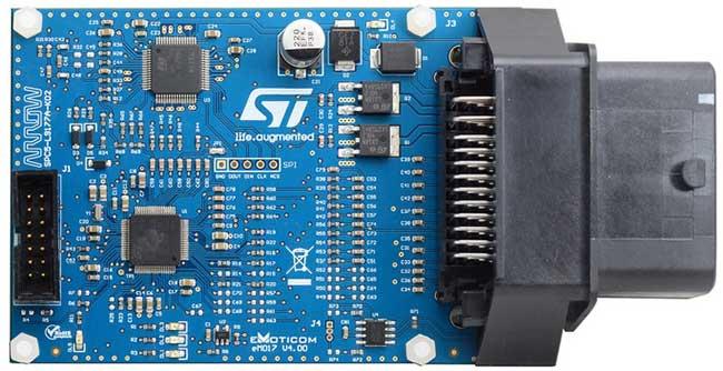 STMicroelectronics SPC5-L9177A-K02 ECU Reference Design
