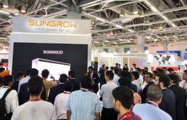 Sungrow Debuts 1500V Outdoor Central Inverter at REI 2019