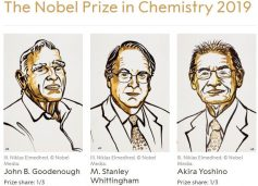 Nobel Prize in Chemistry Awarded for Work on Lithium-Ion Batteries