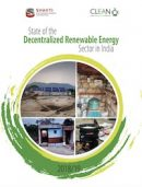 Shakti Foundation and CLEAN Report on State of Decentralized Renewable Energy Sector in India
