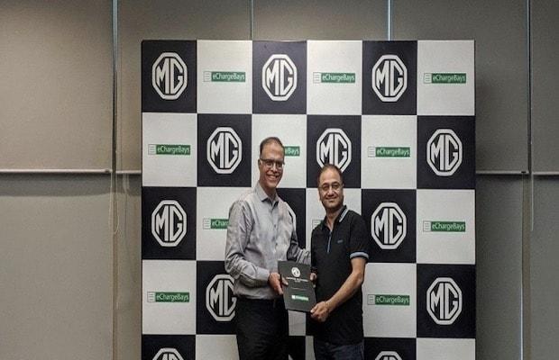MG Motor eChargeBays EV Charging