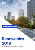 IEA Report on Renewables 2019