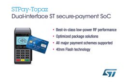 STMicroelectronics Launches Next-Gen Payment System-on-Chip with Increased Performance and Protection