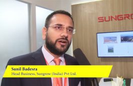 Interaction with Sunil Badesra, Head Business, Sungrow (India) Pvt Ltd