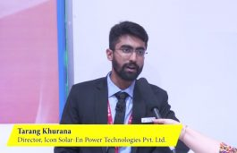 In conversation with Tarang Khurana, Director, ICON Solar-en Power Technologies