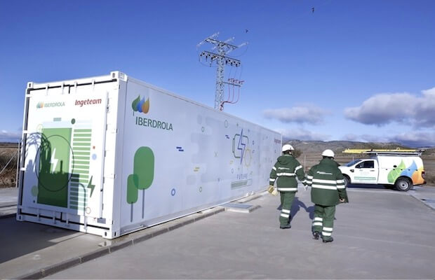 Iberdrola Energy Storage Spain
