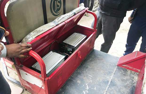 E-Rickshaws battery